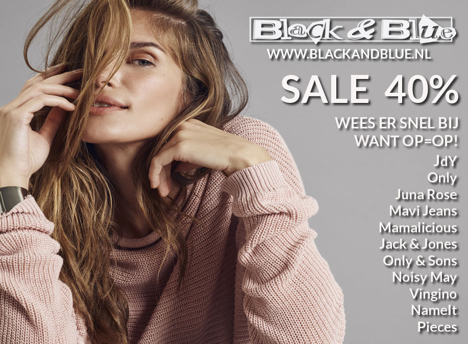 B&B Sale 40procent01