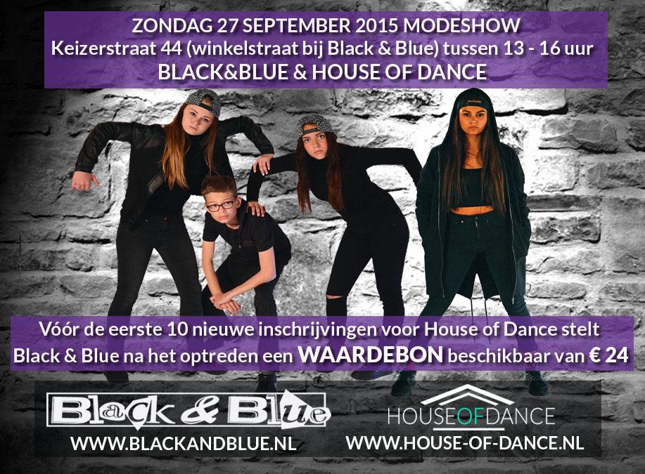 Modeshow 27 september 2015