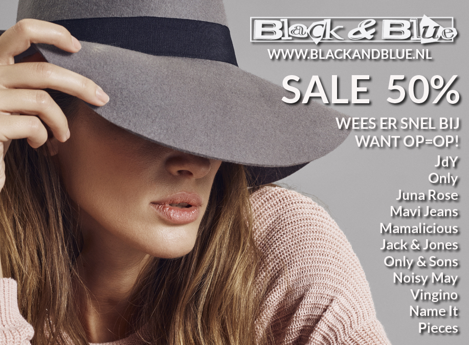 B&B Sale 50 procent
